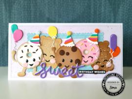Snijmallen Let's Party! - door Jocelijne Design