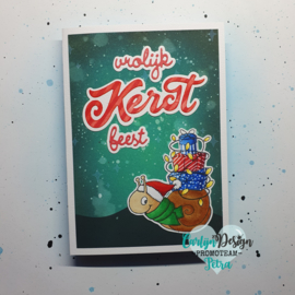 Snijmallen Grote teksten Kerst