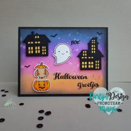 Stempels Halloween & Sint Maarten