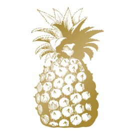Couture Creations Pineapple hot foil stamp