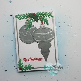 Snijmallen Kerstballen