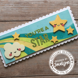 Snijmallen Happy smiles - door Jocelijne Design