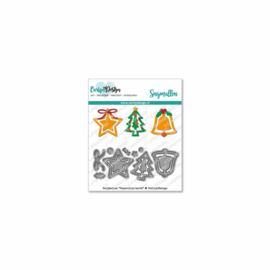 Snijmallen Paperclips kerst