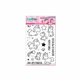 Stamps Miss Sparkles - by Jocelijne Design