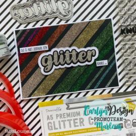 Snijmallen Glitter