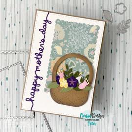 Snijmallen Boeketje bloemen