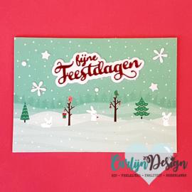 Snijmallen Elegante kerst