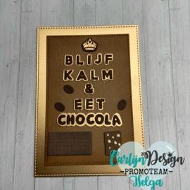 Snijmallen Foute chocola