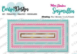 Snijmallen Mini Slimline kaart 2