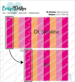 Snijmallen DL Slimline & A6 strepen