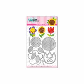Snijmallen Flowers for Mom - door Jocelijne Design