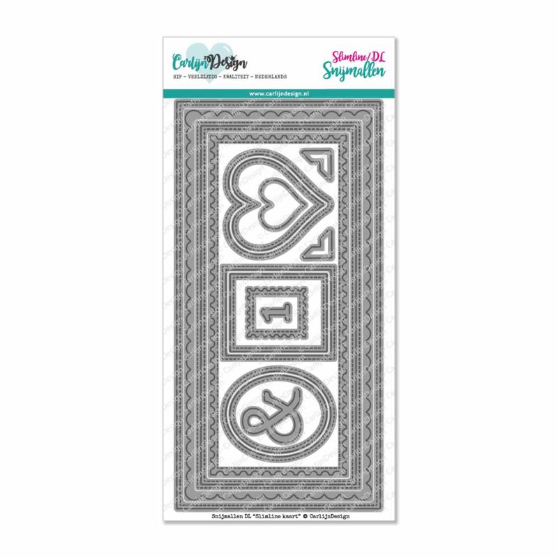 Snijmallen DL Slimline kaart