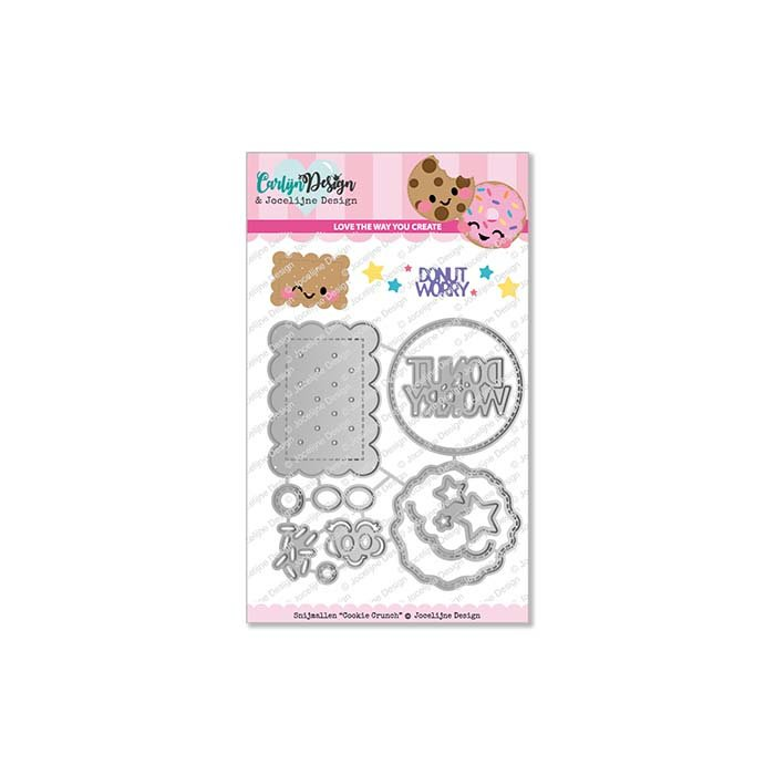Snijmallen Cookie Crunch - door Jocelijne Design