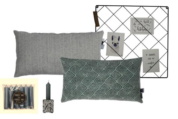 Pakketje sfeer grijs-blauw KLEIN