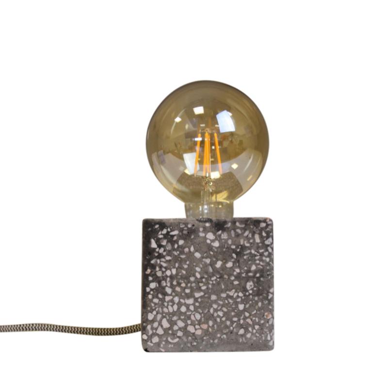 House Vitamin lamp Block Stone