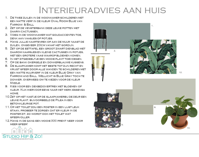 Interieuradvies aan huis Jordi en Danielle Den Bosch