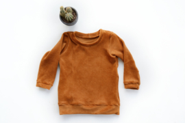 Sweater in fijne ribstof