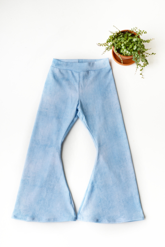 Flared in Jeanslook