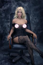 (162 cm) Blond slave