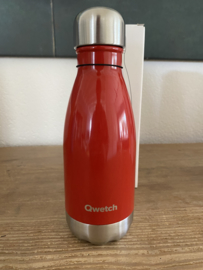 QWETCH Thermosfles RED glans 260 ml