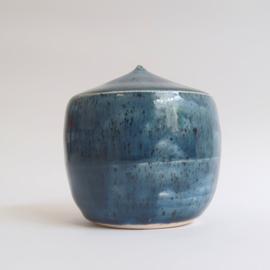 Mini urn  donkerblauw