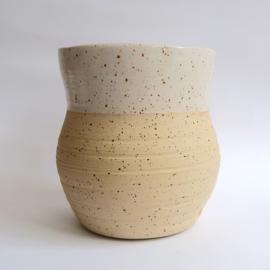 Vaas van spikkel klei [large]