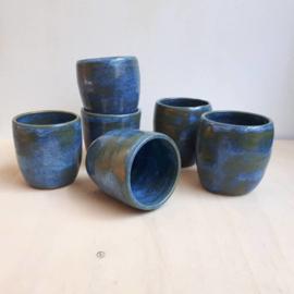 Beker - blauw