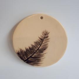 Wandhanger veer/ fluitenkruid/ paardebloem 10cm