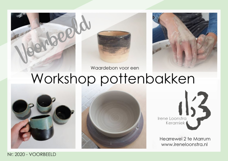 WAARDEBON workshop POTTENBAKKEN