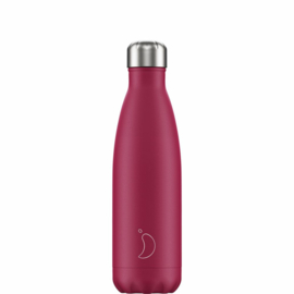 Chilly's Bottle Matte Pink 500ml