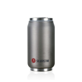 Can'it 280ml Silverstar Matte