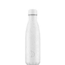 Chilly's Bottle Speckled White 500ml