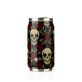 Can'it 280ml Rose & Skull