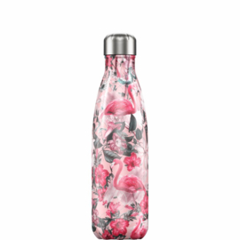Chilly's Bottle Tropical Flamingo 500ml