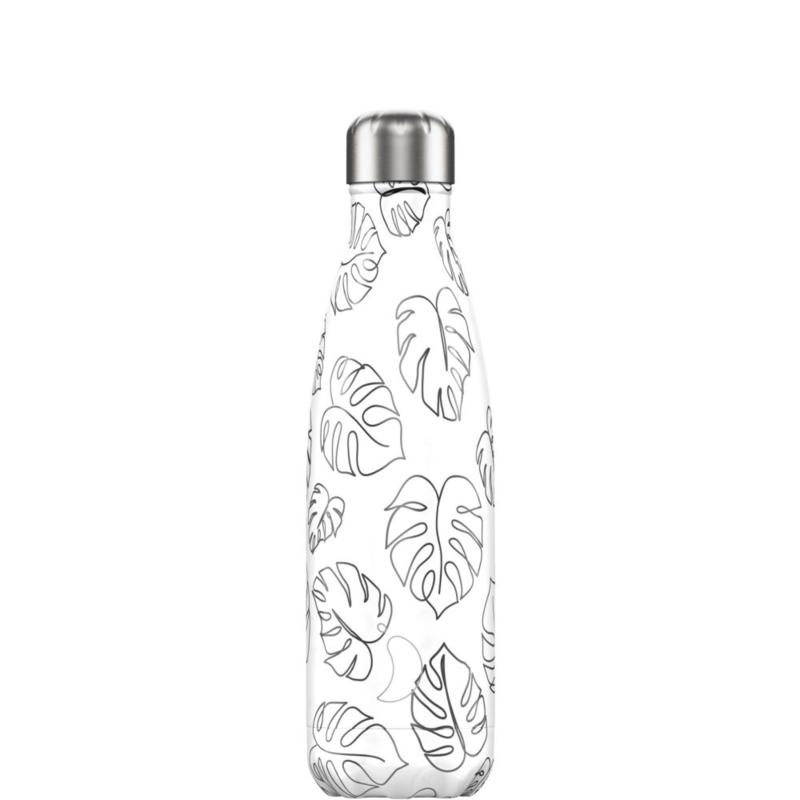 Chilly's Bottle Line Art Leaves 500ml