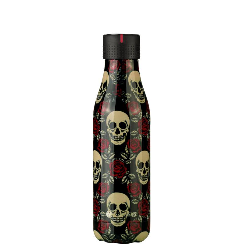 les Artistes Bottle' UP Rose & Skull