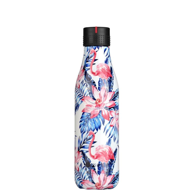 les Artistes Bottle' UP Leaf Flamingo