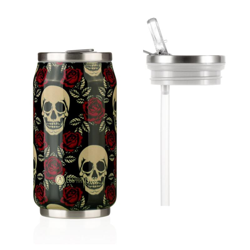 Can'it 280ml Rose & Skull