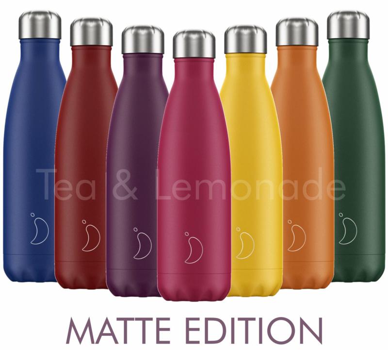 Chilly's Bottle Matte Blue 750ml