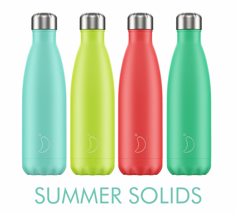 Chilly's Bottle Summer Solids Lemon & Lime 500ml