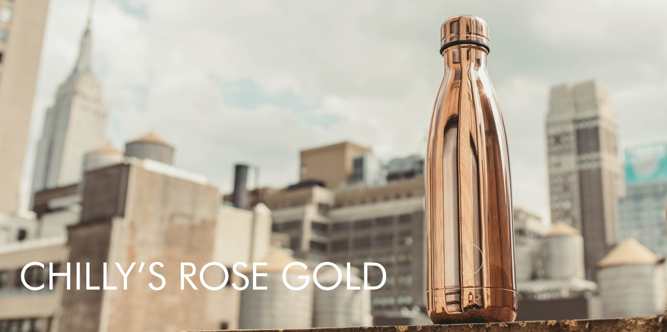 Chilly's Bottles  Rose Gold