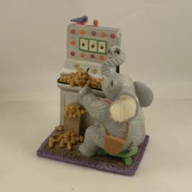 Gokkast beeldje met olifant uit 1996