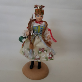 Gional Dress Doll Poland
