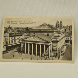 Brussel Money's Theatre Opera ongelopen
