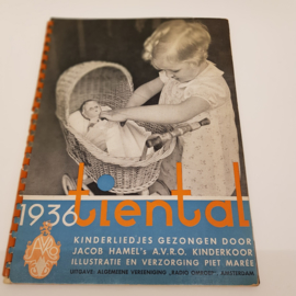 1936 Tiental kinderliedjes A.V.R.O. Kinderkoor