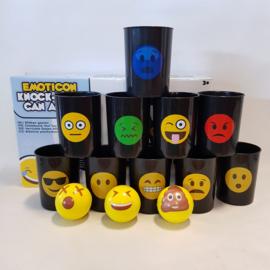 Emoticon Knock-Down can alley