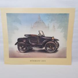 Aral Autoplaat Durkopp 1904 - Piet Olyslager