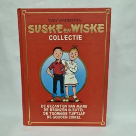 Suske en Wiske stripboek met o.a. de gazanten van Mars