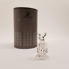 Swarovski Silver Crystal Kangaroe met doosje