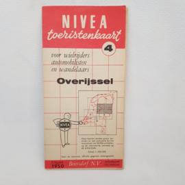 Nivea Toeristenkaart 4 Overijssel uitgave 1950